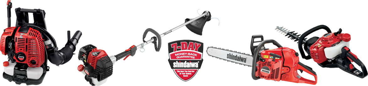 7-Day Money-Back Guarantee | Shindaiwa®